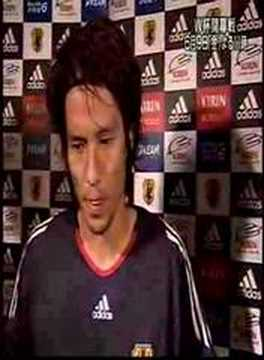 interview of miyamoto ,captain of Japanese Football team