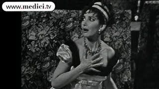 Maria Callas and Tito Gobbi  - Puccini - Tosca