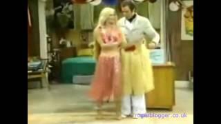 Debra Jo Fondren Hula Skirt Stunning Knee Length Long Blonde Hair Youtube