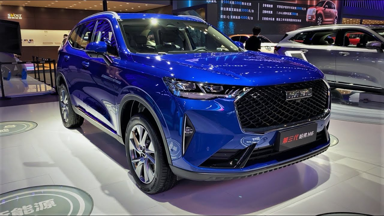 2021 GreatWall Haval H6 FirstLook Walkaround—2020 Chengdu Motor Show—2021款长城哈弗H6,外观与内饰实拍