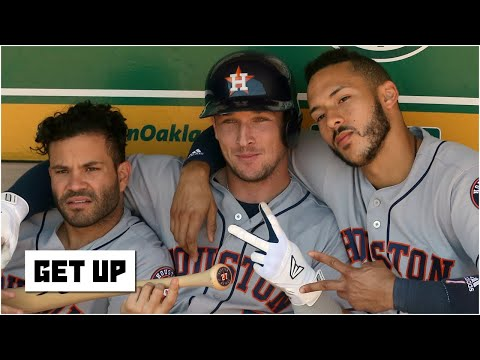 Astros players will get humiliated this season - Mark Teixeira | Get Up