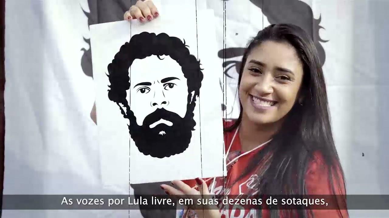 """Trailer: """"Alma Lavada – a história da Campanha Lula Livre""""."""