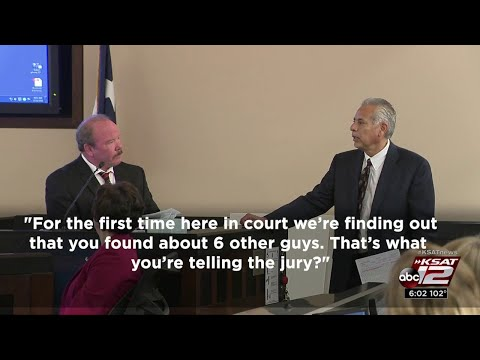 Video: Accused killer's lawyer grills lead detective in capital murder trial