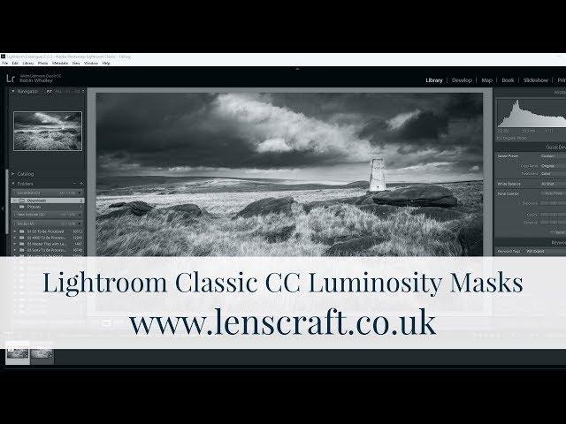 Lightroom Classic CC Luminosity Masks