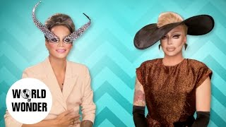 FASHION PHOTO RUVIEW: Lady Gaga with Raja and Raven - RuPaul's Drag Race