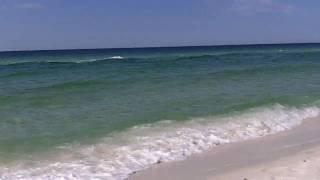 Shore Shots - Beach condition in Destin, FL on 5/10/10 at 9:30 a.m..MOV