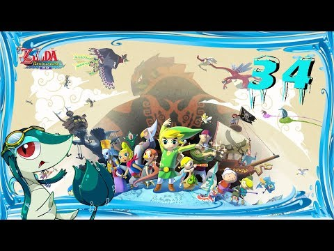 Let's Play The Legend of Zelda the Wind Waker HD! (Part 34) The Great Fairy Hunt (Side Quest)