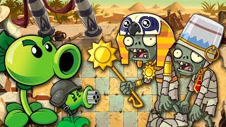 ЗОМБИ В ЕГИПТЕ - Plants vs zombies 2 #1 | РАСТЕНИЯ ПРОТИВ ЗОМБИ