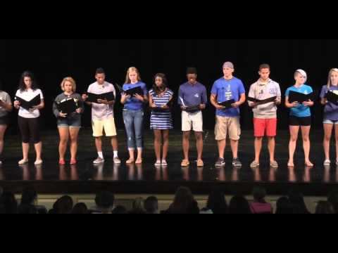 2014 Welcome Day Readers Theater 480