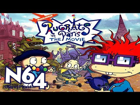 Rugrats In Paris : The Movie - Nintendo 64 Review - HD