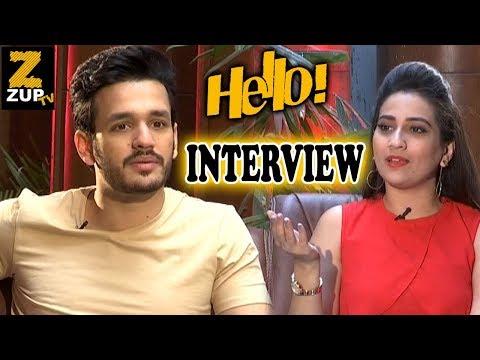 Akkineni Akhil EXCLUSIVE Interview About Hello Movie | Vikram K Kumar Kalyani Priyadarshan