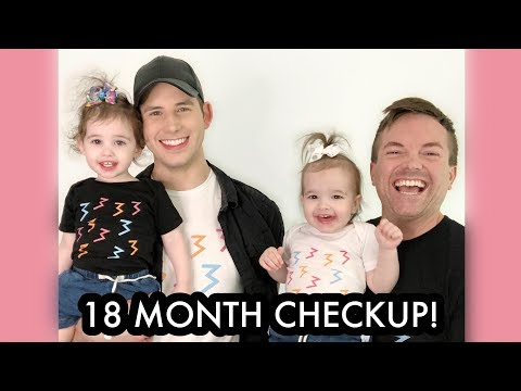 Baby Girls 18 Month Checkup! /// McHusbands