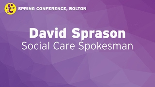David Sprason in Bolton