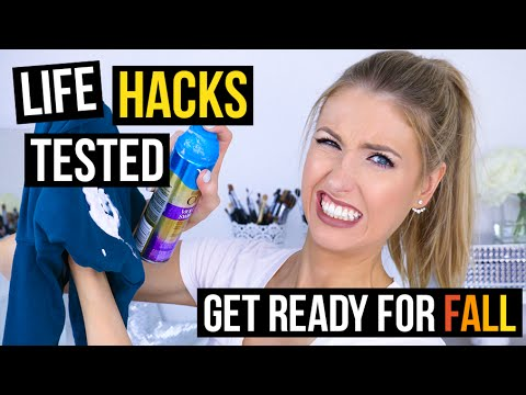 Fall life hacks tested haul essentials getting for Getting ready for fall