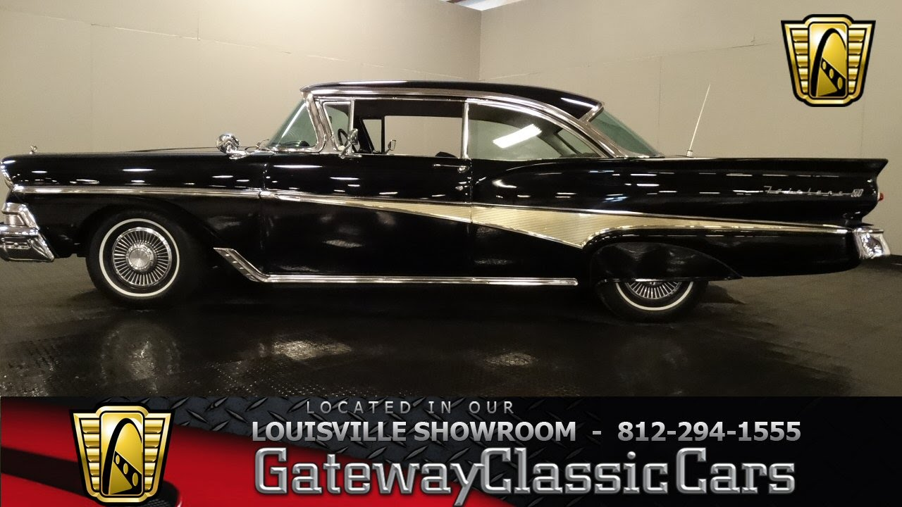 Used Cars Louisville Ky >> 1958 Ford Fairlane 500 - Louisville showroom - Stock # 939 ...