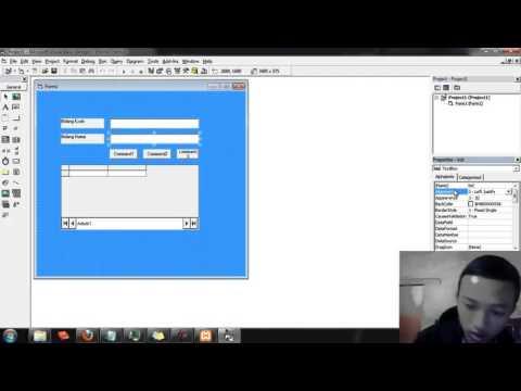 Cara Membuat Form Pada Visual Basic
