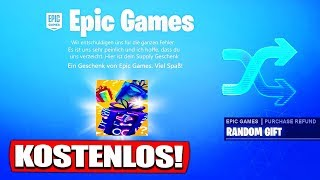 Fortnite gives us this free gift! - Fortnite Battle Royale English