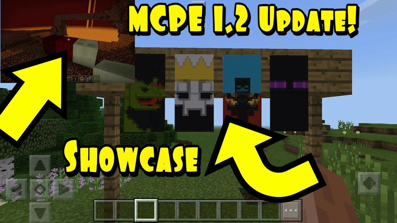 MCPE 1.2 Update! Beta Tester - Showcase MCPE baru! - YouTube