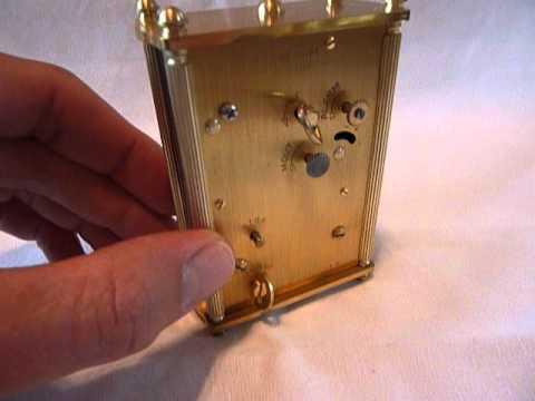 Jaeger LeCoultre musical alarm clock