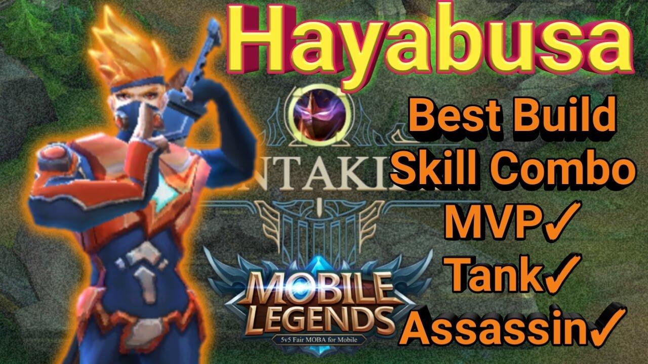 Mobile Legends Hayabusa Best Build