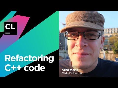 Refactoring C++ Code