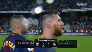 чемпионат Испании. Ла Лига 2017/18  Обзор голов 1 тура