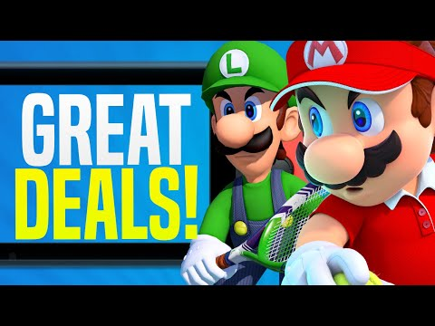 HUGE Nintendo Switch Games On Sale - LOWEST PRICE EVER! (Nintendo EShop Sales And Deals)