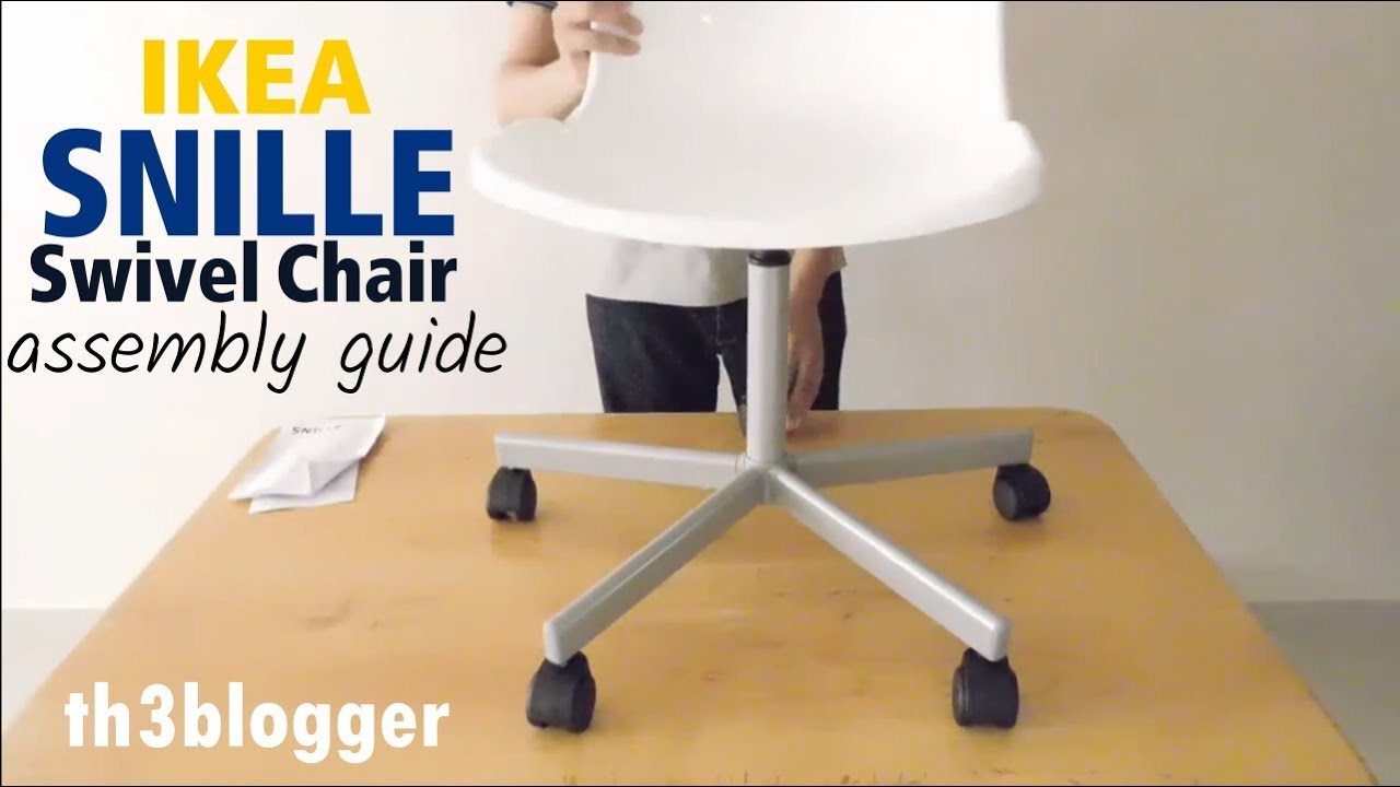 Ikea Stuhl Snille Aufbauen Ikea Snille Swivel Chair Assembly Guide Th3 Blogger