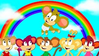 Rainbow Color Song | Learning Color | Songs For Children | Nursery Rhymes