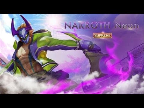 Nakroth neon - Arena of valor |
