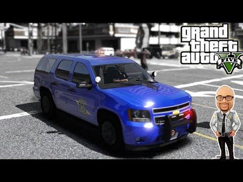 GTA5 LSPDFR   Michigan State Patrol   LIVE   GTA 5 REAL LIFE Police Mod   #120 Sheriff Donut Live