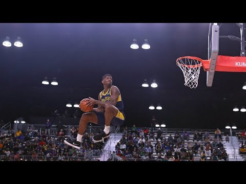 Dequan Jones Wins 2018 NBA G League Slam Dunk Contest