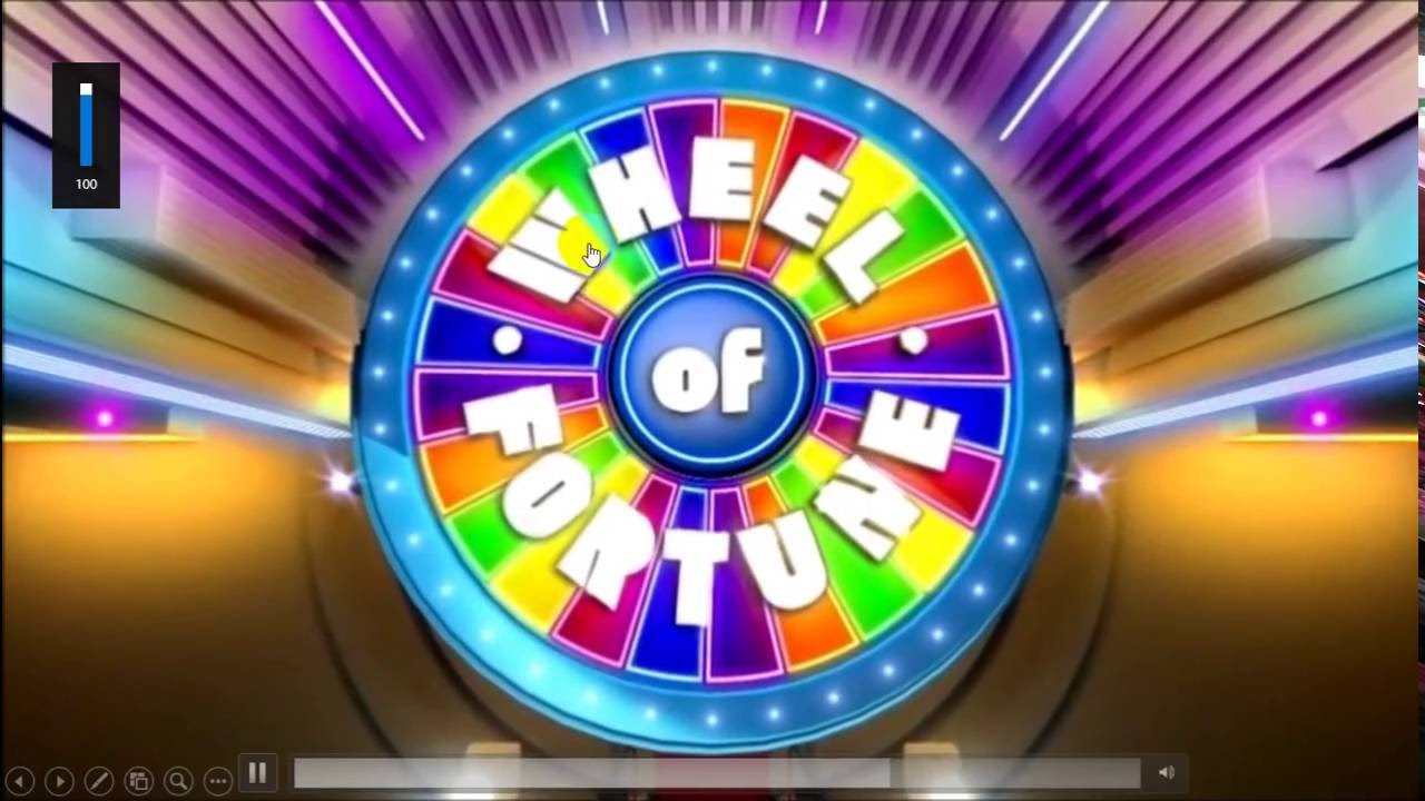wheel of fortune powerpoint version 2016 (updated) - youtube, Powerpoint templates