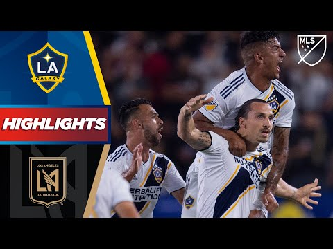 LA Galaxy vs. Los Angeles Football Club | HIGHLIGHTS – July 19, 2019