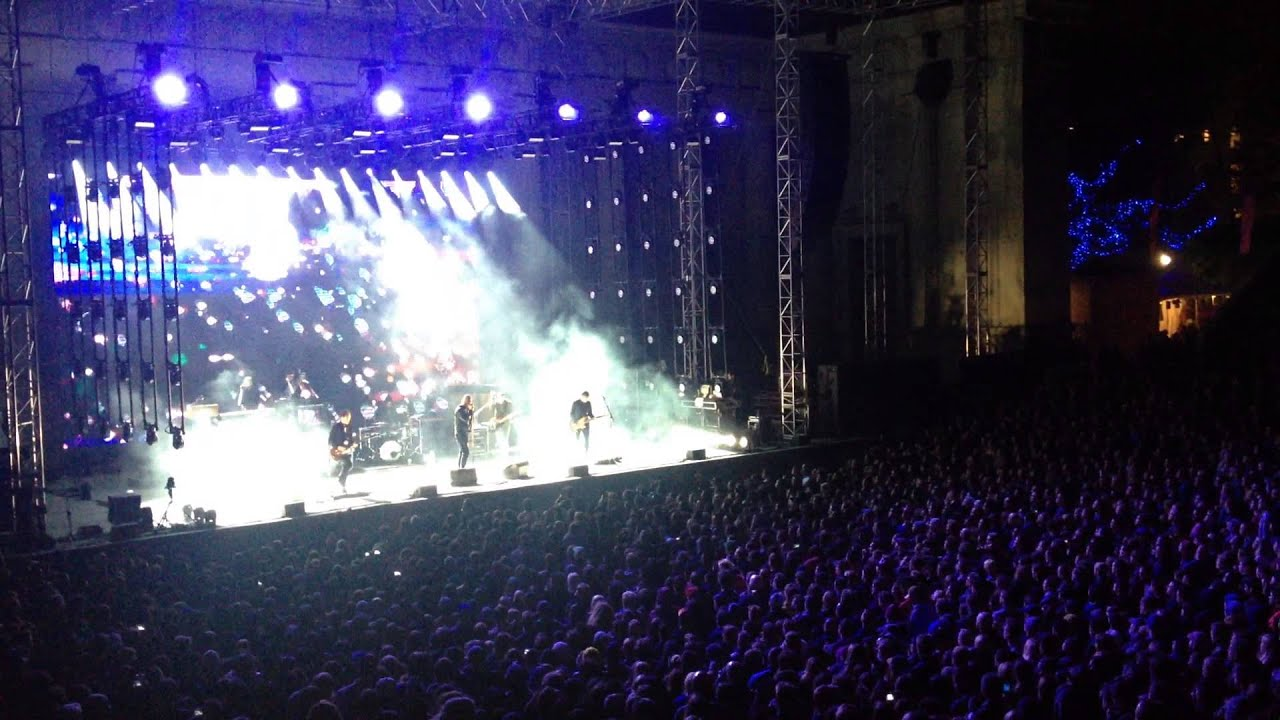 """the national, """"don't swallow the cap"""" greek theatre, berkeley, ca 04"""