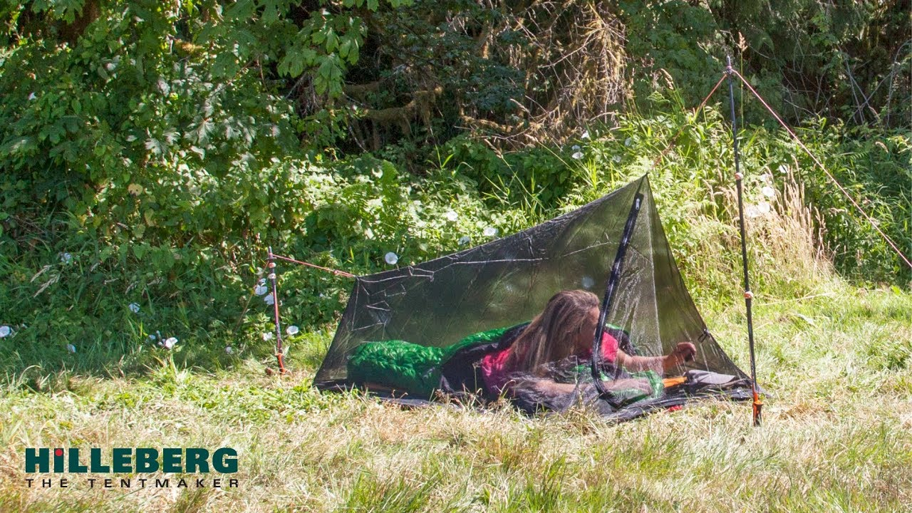 Hilleberg Mesh Tent 1 Pitching Instructions Youtube