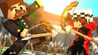 ПЬЯНАЯ ДУЭЛЬ С ДЕМАСТЕРОМ НА ДИКОМ ЗАПАДЕ - Minecraft
