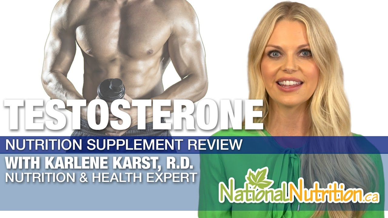 Professional Supplement Review - Testosterone - YouTube