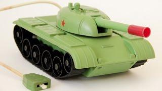 Танк СРСР іграшка элетромеханическая