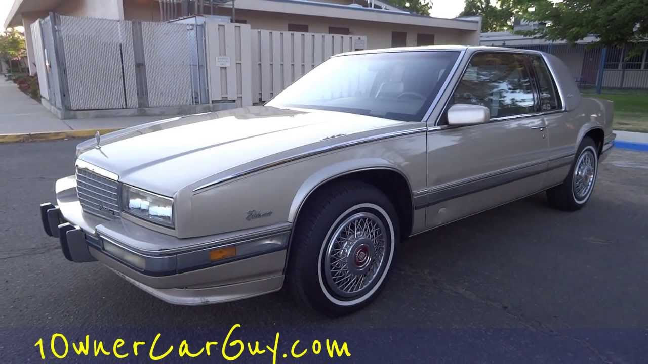 90 Cadillac Eldorado Biarritz Coupe 2 Door 1 Owner 86,000 Original