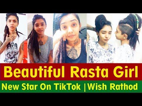 Beautiful Indian Rasta Girl | Wish Rathod | New Star