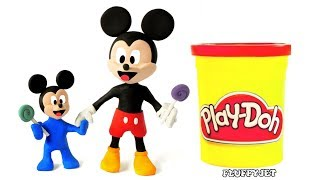 Mickey Mouse Learn Colors Funny Cartoon fo kids