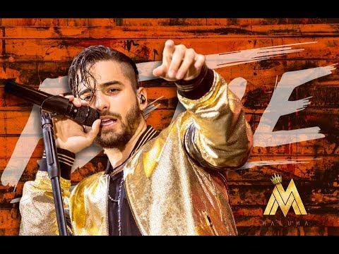 Maluma lanza su próximo disco y gira  F A M E