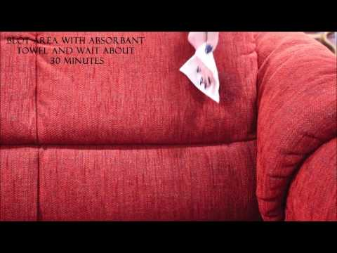 How to Clean the Fabric on Your Stressless Recliner Chair or Sofa Furniture
