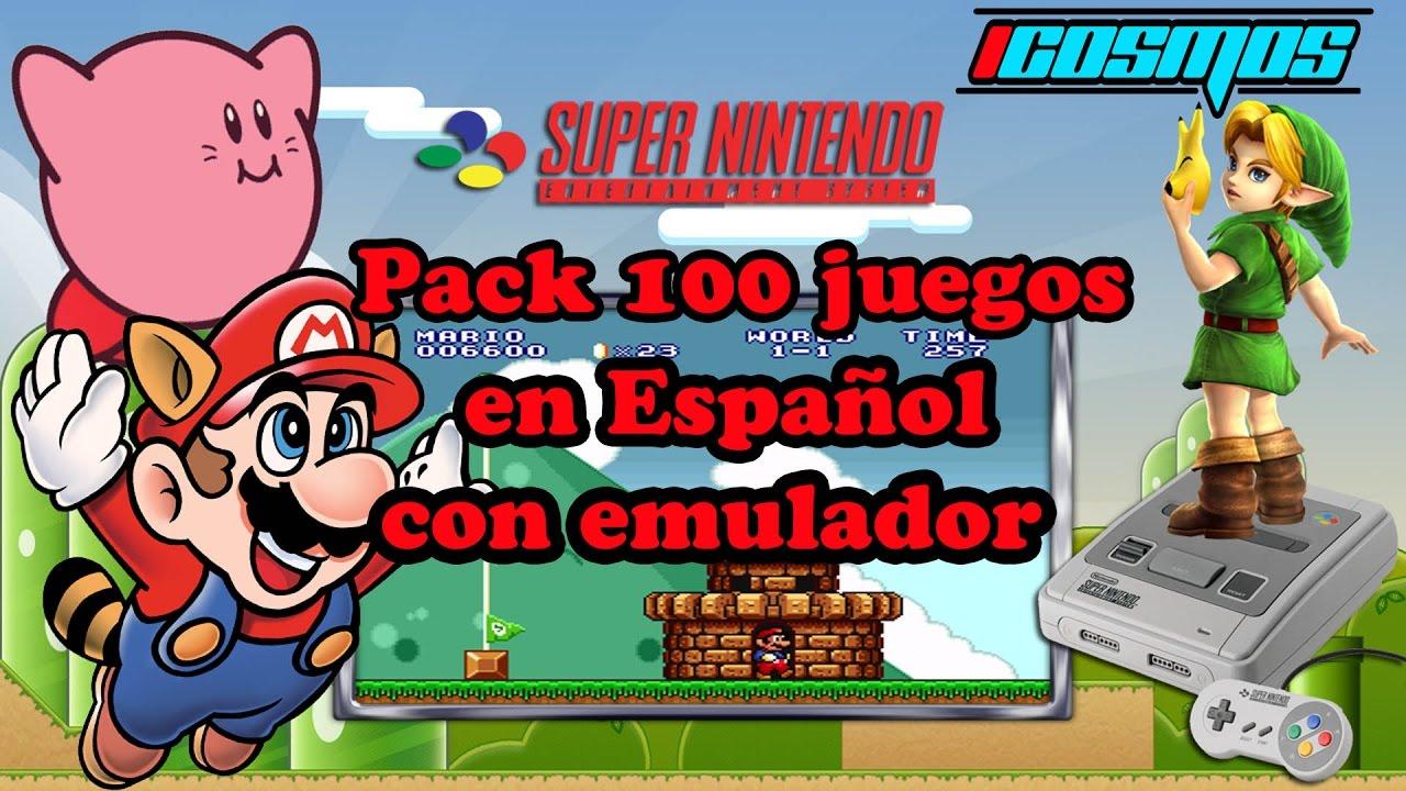 Pack Snes 100 Roms Mas Emulador En Espanol Por Mega Youtube