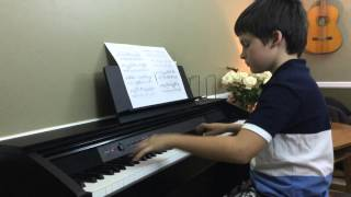 Bach Air on the G String Piano arr. Siloti