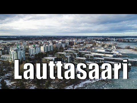 Lauttasaari from the sky