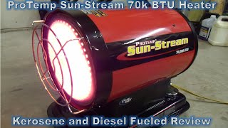 Protemp Kerosene / Diesel Heater Review ...
