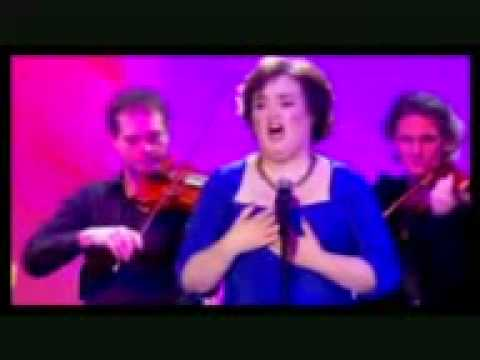 susan boyle- wild horses...live in france