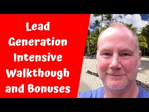 Lead Generation Intensive Jim Mack Walkthrough & Bonuses
